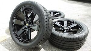 Black Silverado Tahoe Chevy 22 Wheels Rims Tires Gmc Sierra Yukon Denali Ck162