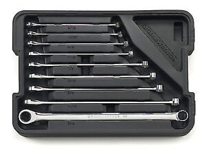 Gearwrench 85998 9 Piece Sae Xl Gearbox Ratcheting Double Box Wrench Set