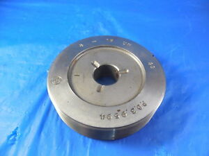4 16 Pd Co Thread Plug Gage 4 000 Go Only P d 3 9594 Machine Shop Tools