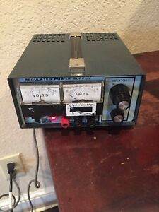 Precision Regulated Power Supply Power Mate Corp Model Bp 40d