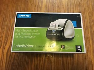 Dymo 1752265 Labelwriter 450 Turbo Direct Thermal Printer Monochrome Label Print