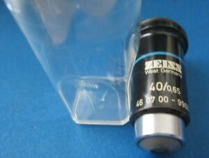Zeiss 40 0 65 Microscope Objective Lens