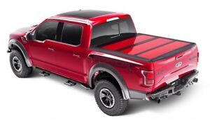 A r e Fusion Painted Tri fold Tonneau Cover 15 c Ford F 150 67 1 Bed