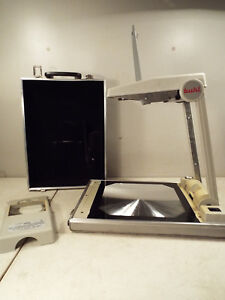 Buhl Model 200 Folding Portable Overhead Projector Compact