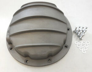 Gm 8 5 8 6 Ring Rear Aluminum Differential Cover 10 Bolt Satin Finish