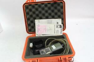 Industrial Scientific Ibrid Mx6 Multi Gas Detector Meter Monitor W Charger Used