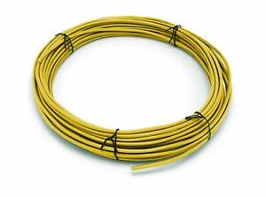 Thhn Building Wire Yellow Jacket 10 Gauge Solid Copper Ul Uv 150 Ft