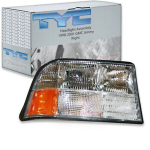 Tyc Right Headlight Assembly For 1998 2001 Gmc Jimmy Tf
