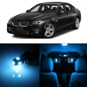 17 X Ice Blue Led Interior Light Package For 2011 2016 Bmw 5 Series M5 Tool