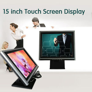 High Resolution 15 Touch Screen Monitor Pos Retail Kiosk Restaurant ouchscreen