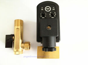 Automatic Electronic Timed Air Compressor Tank Drain Valve 110v 1 4 0a