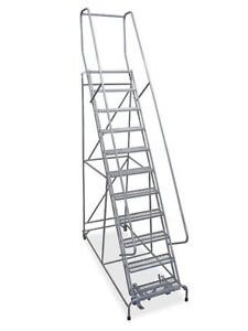 11 Step Rolling Ladder