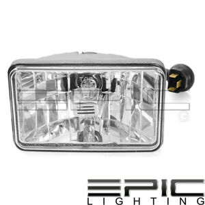 Headlights Pair For Commercial Truck Universal Halogen 4 X 6 Low Beam