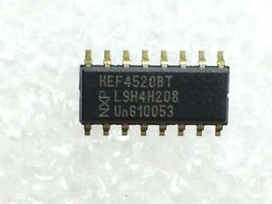 Hcf4520bm1 Nxp Ic Counter Shift Registers Dual Bin Up 5 Pieces