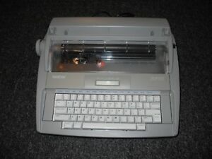 Brother Sx 4000 Electronic Portable Typewriter With Lcd Display Daisy Wheel