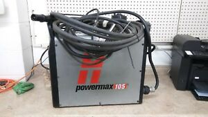 Hypertherm Powermax 105 Plasma Cutter 25 Hand Torch System