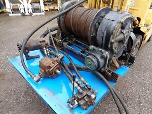 Braden Winch Hydraulic 45 000 Lb asm20 183 8602843