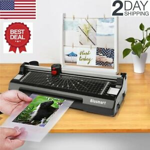 3 In 1 Portable Thermal Laminator Machine Set Paper Trimmer Office Warms Up Fast