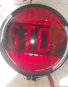 Nos Stop Light 7 With Vintage Stop Lens 12v Rat Rod Chevy Vw