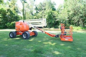 Jlg 450a Manlift 45 Articulating Boom Lift 4x4 Drive Genie Z45 25 Aerial