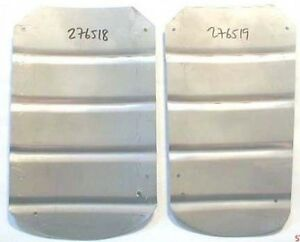 Volvo 444 544 New Pair Rear Mudflap Plates
