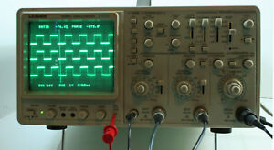 Leader 100mhz Oscilloscope 8104 3 Channel With 2 Probes