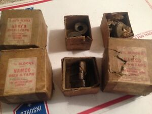 National Acme Chasers For Namco Dies Taps 1 5 8 vintage Item Holders Thread