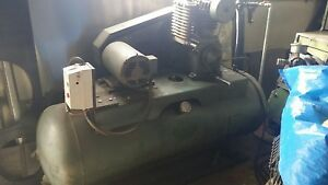 All American Air Compressor 80 Gallons 5hp