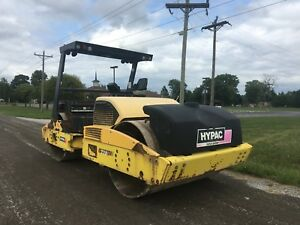 2008 Hypac C778d Vibratory Roller good Running And Working Condition