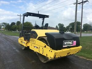 2008 Hypac C766d Vibratory Roller good Running And Working Condition