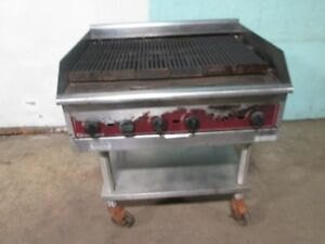 southbend H d Commercial Natural Gas 6 Burners 36 w Radiant Charbroiler