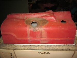 Farmall H M Tractor Hood Rat Rod