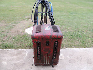 Vintage Marquette Model 300b 17 Heat Stages Stick Welder pick Up Item Only