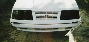 1983 1984 Mustang Lx Gt Smoke Gts Headlight Covers