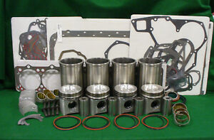 Rp297 John Deere 270d 254d Engine Major Overhaul Kit 3010 3020 Jd500 Jd500a