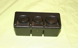 Gmc Console Coin Holder Buick Chevy Olds Pontiac Cadillac Grooves On Back Cc106