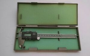 Spi 6 Digital Electronic Caliper With Case Pristine made In Japan