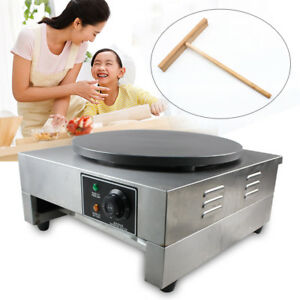 16 heavy Duty Commercial Stainless Nonstick Electric Crepe Maker Pancake Machine