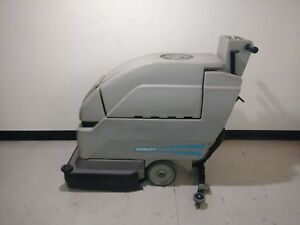 Nobles 2001 Floor Scrubber New Batteries 24 Volt Charger Included
