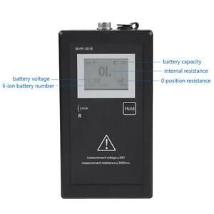 Battery Internal Resistance Voltage Tester test Leads For Secondary Batteries