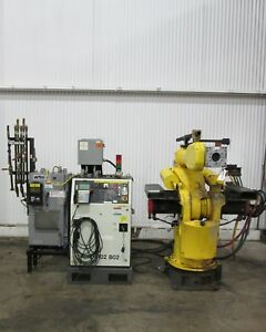Fanuc 6 axis Heavy Duty Robot Control System Used Am15641