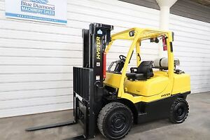 2008 Hyster H90ft 9 000 Solid Pneumatic Tire Forklift S s