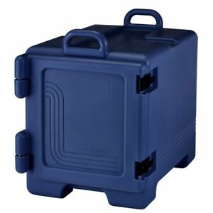 Cambro Upc300186 Navy Blue 36 Qt Full Size Food Pan Camcarriers