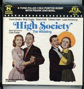 super 8mm sound film sealed high society