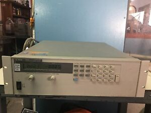 Agilent 6653a Power Supply 35v 15a Tektronix Calibrated