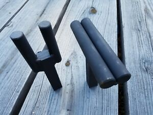 Blacksmith Turning H And Creasing Stake Combo 3 4 Hardy Hole Anvil Tool Jig