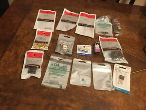Lot mixed Electronic Parts Diodes addapters tv Conectors bridge Rectifier