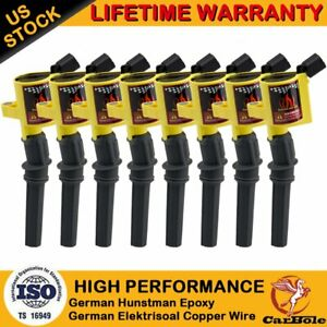 8 Pack Ignition Coil For Ford F150 Expedition 5 4l V8 Dg508 2000 2001 2002 2004