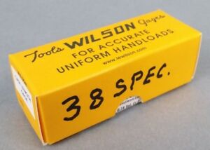 Wilson Case Length Gauge For ..38 Special W Box