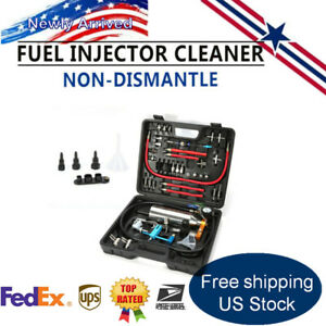 Gx100 Non Dismantle Injector Cleaner Tester Fuel System Suitcase For Petrol